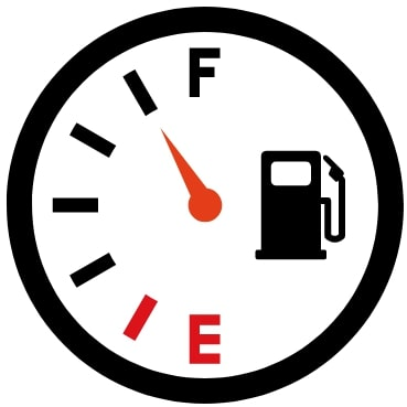 燃料を満タンにする